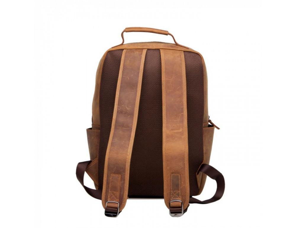 Винтажный городской рюкзак TIDING BAG t0004 коричневый - Фото № 3