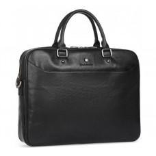 Чёрная классическая сумка под ноутбук Blamont P5912061