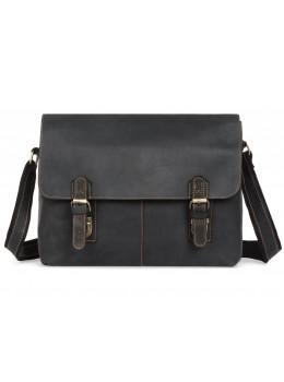Винтажная сумка через плечо TIDING BAG 6002LA-2 Чёрная
