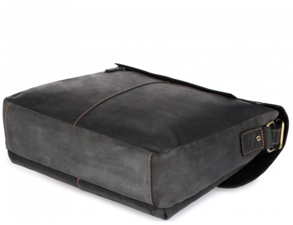 Винтажная сумка через плечо TIDING BAG 6002LA-2 Чёрная - Фото № 6