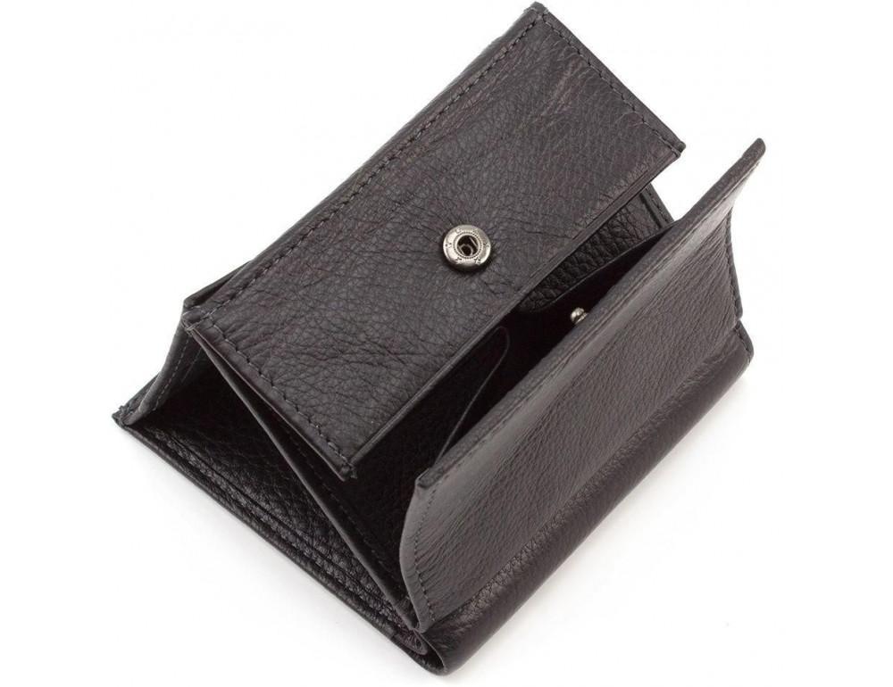 Маленький кожаный кошелёк на магнитной засчёлке MD Leather 606-a - Фото № 5