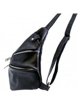 Чорна сумка на плече зі шкіри TARWA GA-6402-3md