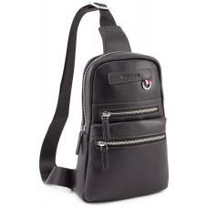 Чёрная мужская сумка рюкзак Marco Coverna MD 6636 black