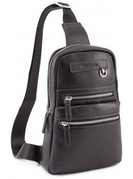 Чорна чоловіча сумка рюкзак Marco Coverna MD 6636 black