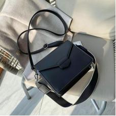 Чёрная женская сумока из пу-кожи Ramiel 6905A
