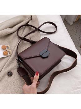 Бордова жіноча сумка через плече зі штучної шкіри Ramiel 6905BR