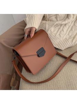 Коричнева жіноча сумка через плече зі штучної шкіри Ramiel 6905C
