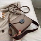 Тёмно-пудровая женская сумока из пу-кожи Ramiel 6905KH - Фото № 100
