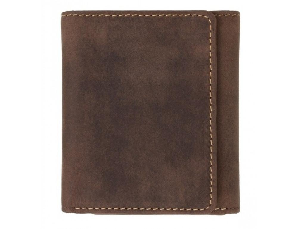Тёмно-коричневый портмоне мужской Visconti 700 OIL TAN Apache - Фото № 1