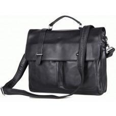 Мужская кожаная сумка TIDING BAG 7013A