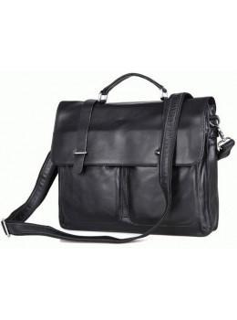 Чоловіча шкіряна сумка TIDING BAG 7013A
