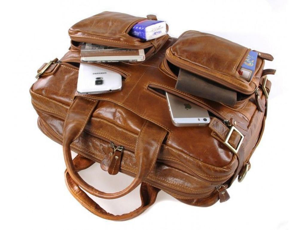 Мужская сумка-рюкзак Jasper&Maine 7026B - Фото № 5