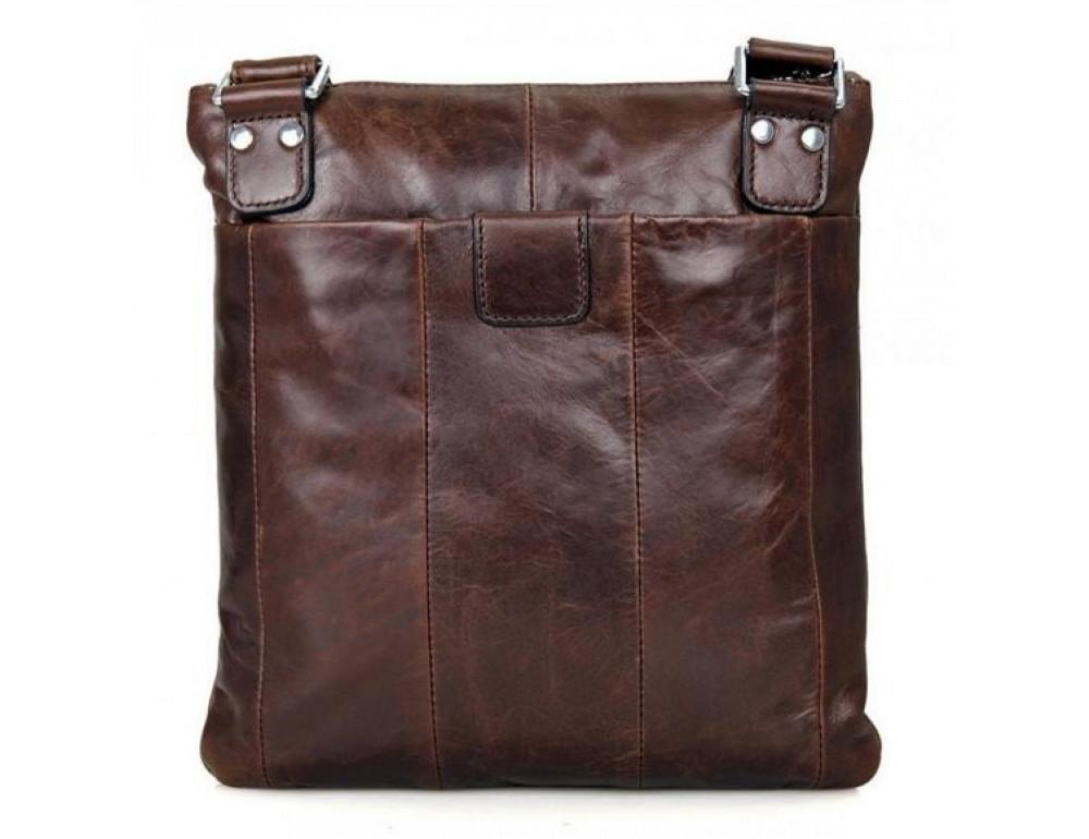 Мужская кожаная сумка через плечо  JASPER&MAINE 7045Q - Фото № 4