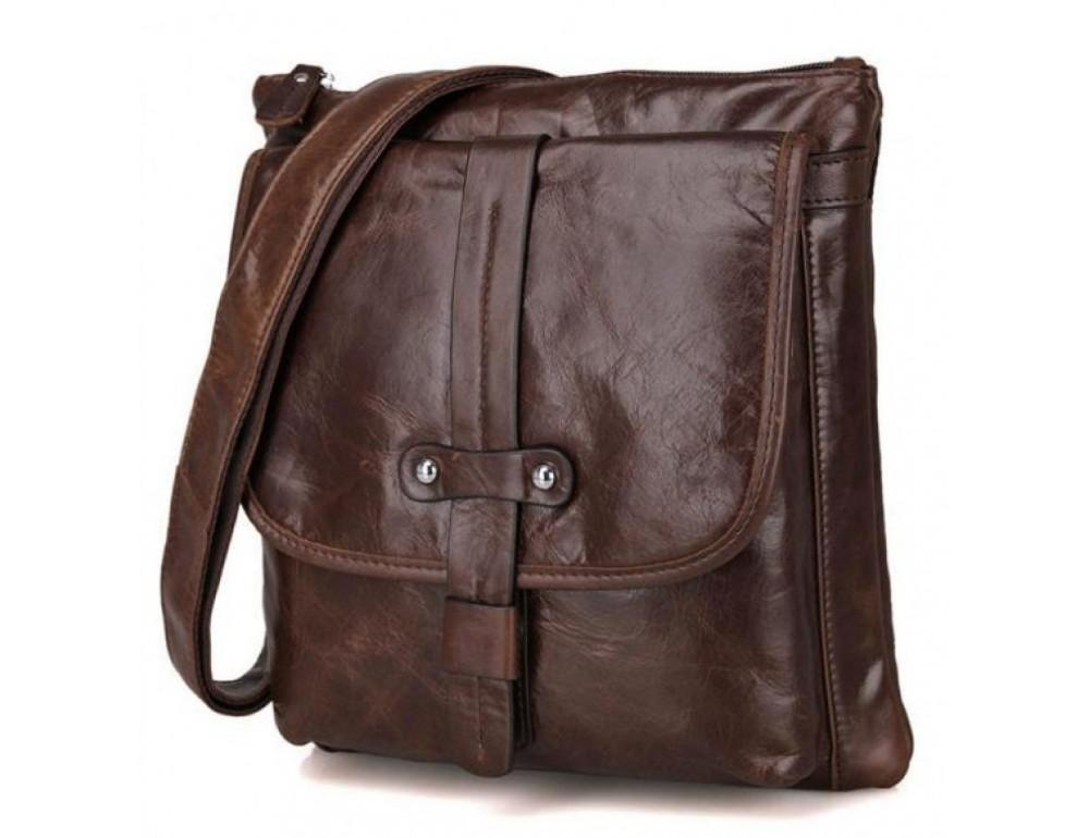 Чоловіча шкіряна сумка через плече JASPER & MAINE 7045Q