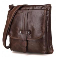 Мужская кожаная сумка через плечо  JASPER&MAINE 7045Q