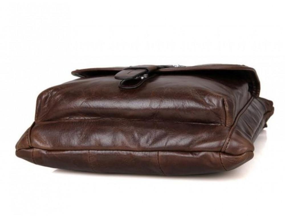 Мужская кожаная сумка через плечо  JASPER&MAINE 7045Q - Фото № 7