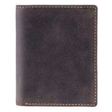 Мужской кошелек Visconti 705 OIL BRN Тёмно-коричневый