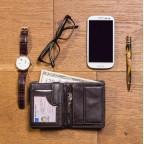 Мужской кошелек Visconti HT11 CHOC коричневый - Фото № 105