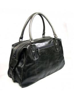 Серая дорожная сумка из телячьей кожи JASPER - MAINE 7071J