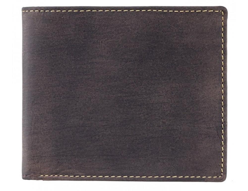 Мужской кожаный кошелек Visconti 707 коричневый - Фото № 1