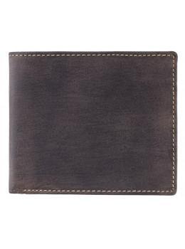 Мужской кожаный кошелек Visconti 707 коричневый