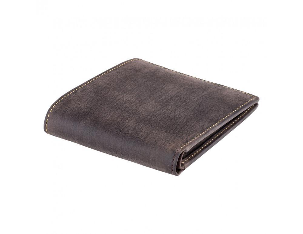 Мужской кожаный кошелек Visconti 707 коричневый - Фото № 4