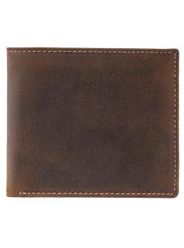 Мужской кожаный кошелек Visconti 707 - Shield коричневый