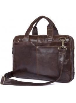 Кожаная сумка через плечо TIDING BAG 7092-3C