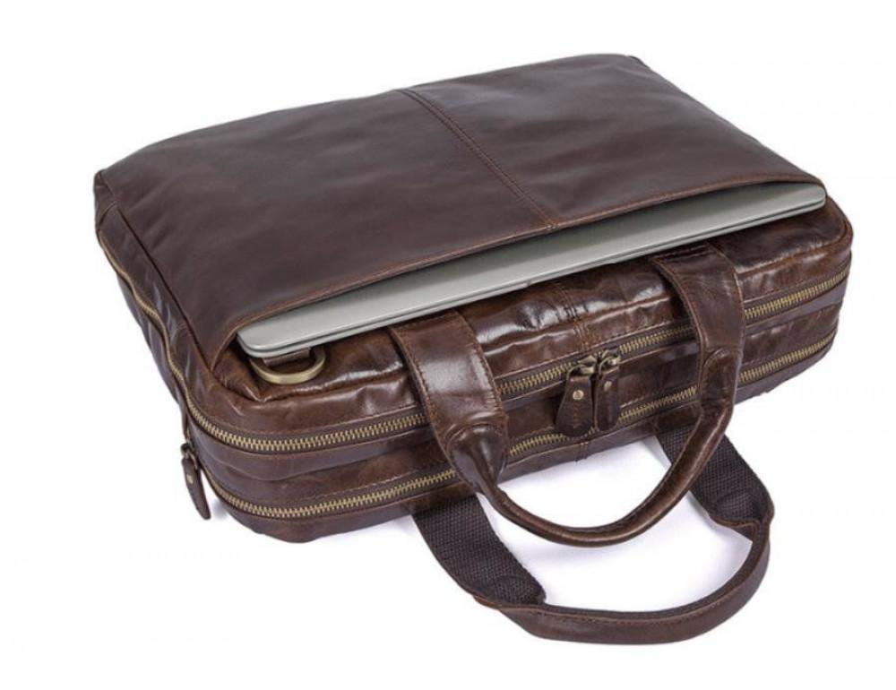 Шкіряна сумка через плече TIDING BAG 7092-3C - Фотографія № 8