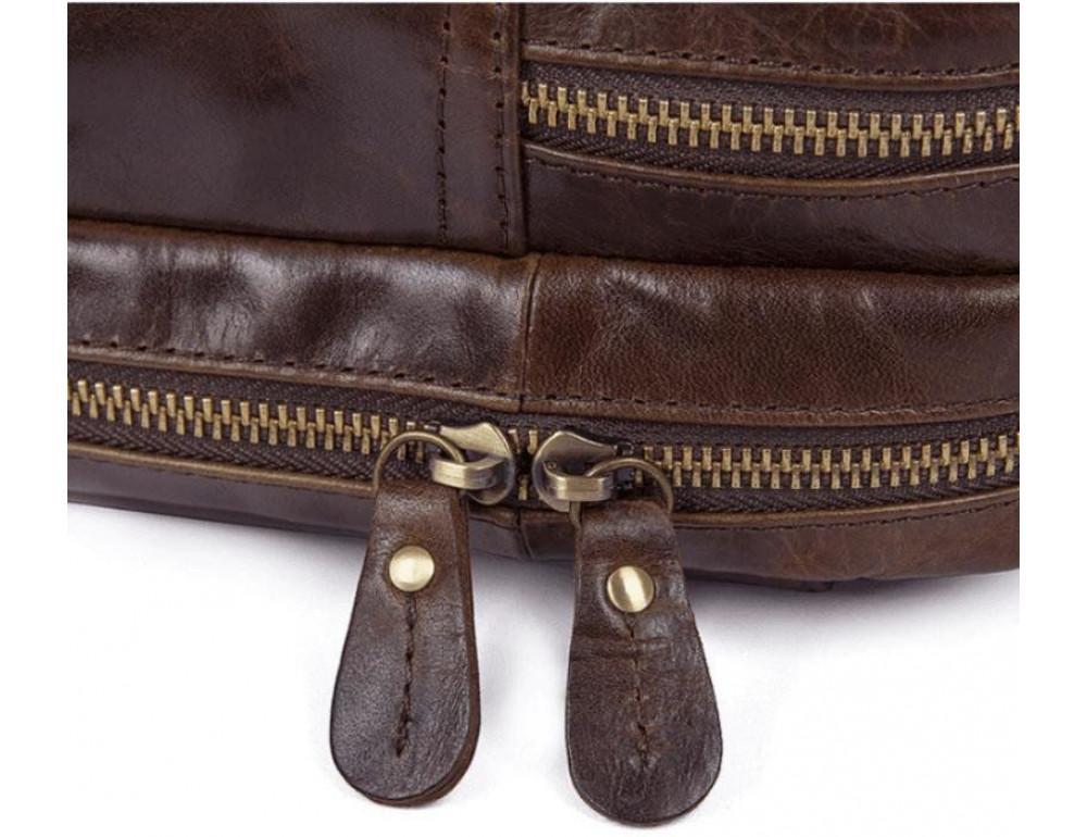 Шкіряна сумка через плече TIDING BAG 7092-3C - Фотографія № 9