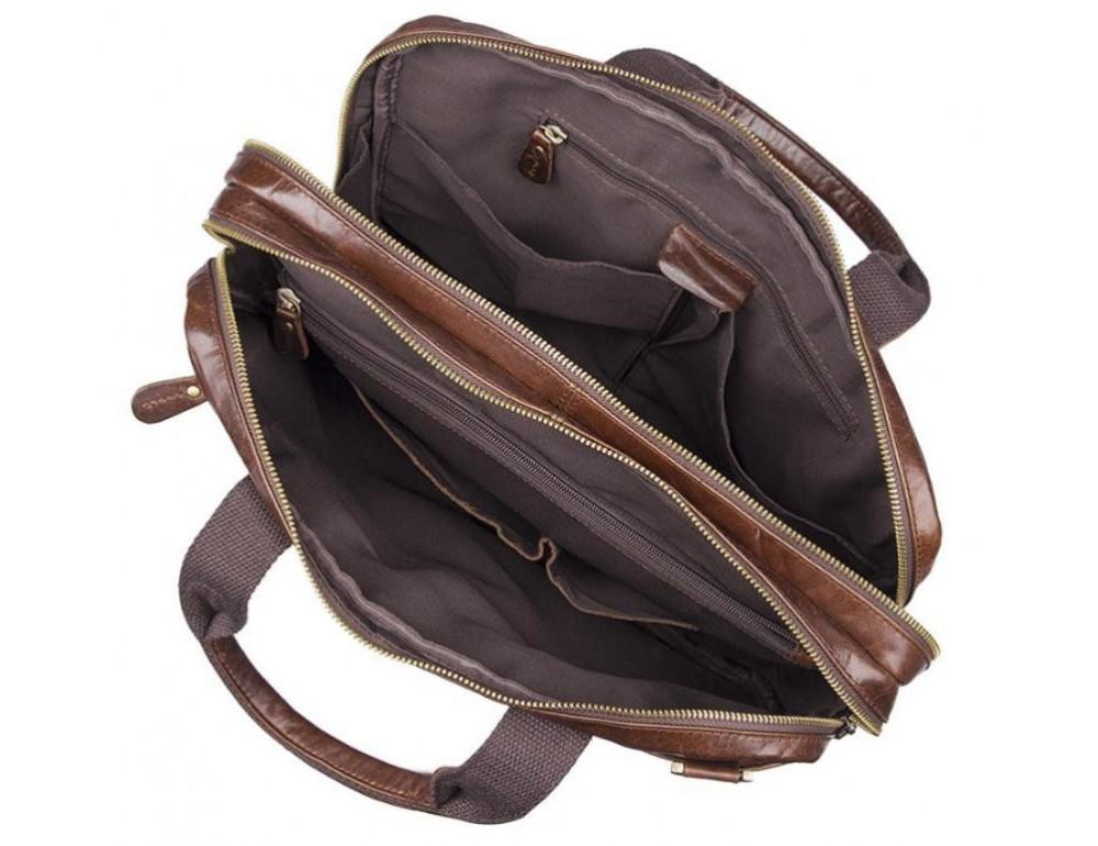 Шкіряна сумка через плече TIDING BAG 7092-3C - Фотографія № 2