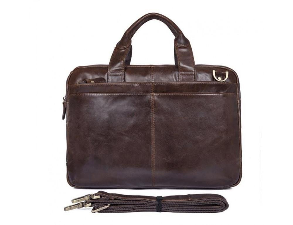 Шкіряна сумка через плече TIDING BAG 7092-3C - Фотографія № 10