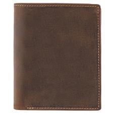 Коричневый мужской кошелёк под документы Visconti 709 OIL TAN Rifle