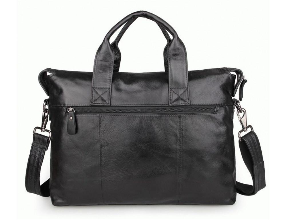 Кожаная сумка для ноутбука JASPER & MAINE 7120A - Фото № 2