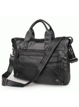 Кожаная сумка для ноутбука JASPER & MAINE 7120A