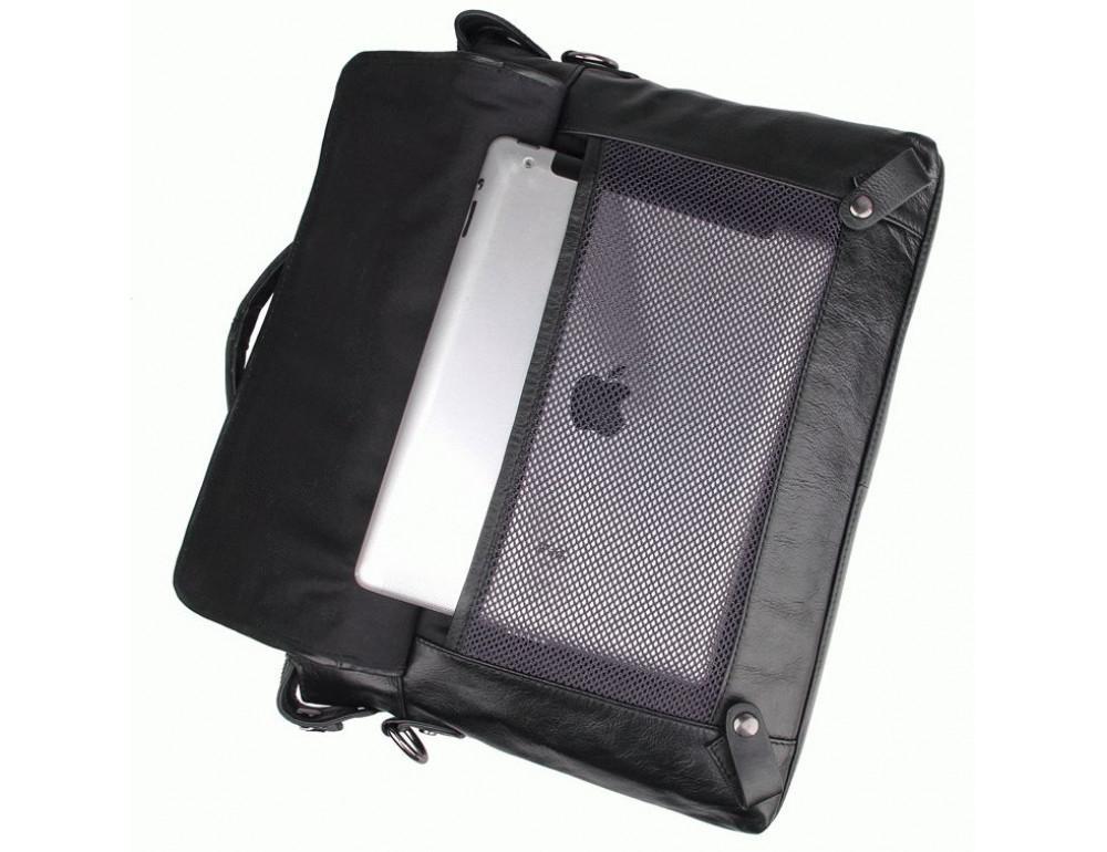 Кожаная сумка для ноутбука JASPER & MAINE 7120A - Фото № 5
