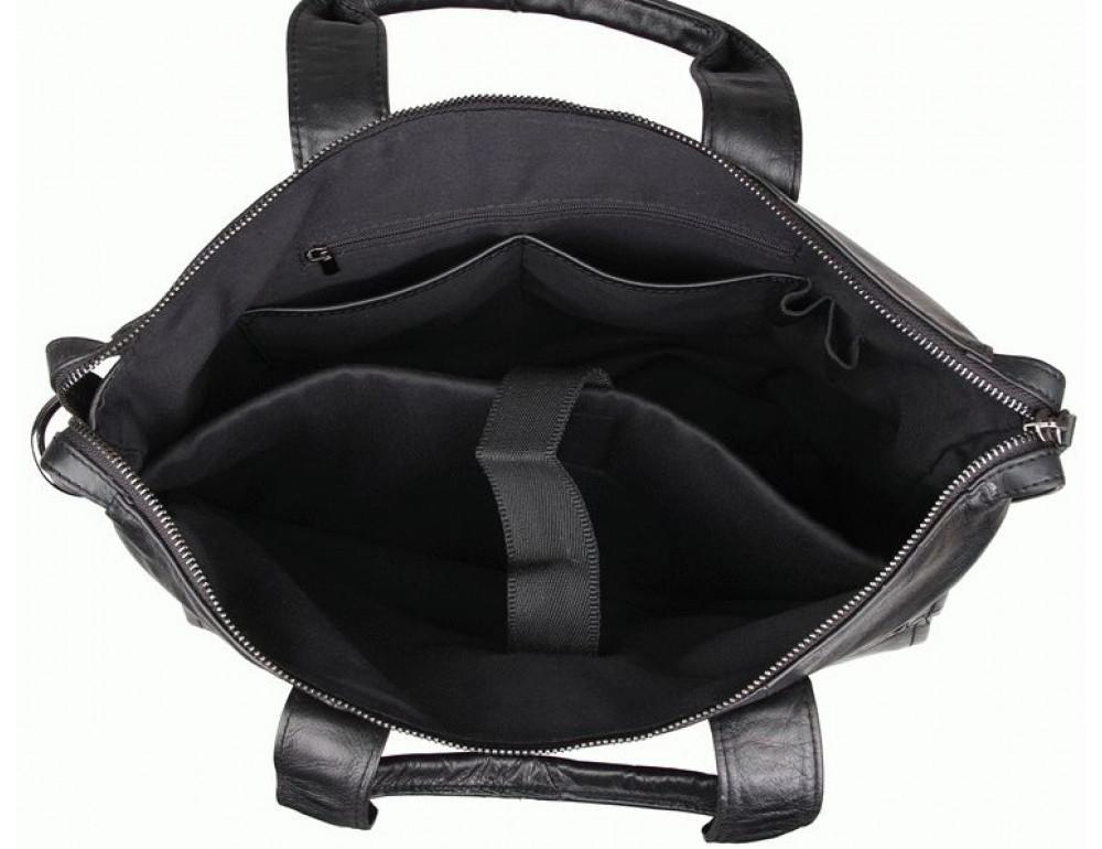 Кожаная сумка для ноутбука JASPER & MAINE 7120A - Фото № 8