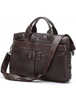 Шкіряна сумка для ноутбука JASPER & MAINE 7122C
