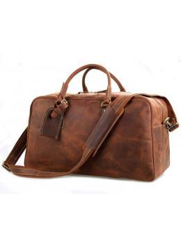 Большая винтажная сумка для путешествий Jasper Maine 7156LR