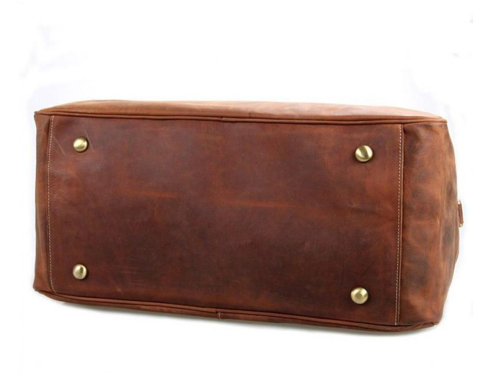 Большая винтажная сумка для путешествий Jasper Maine 7156LR - Фото № 5