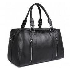 Шкіряна дорожня сумка JASPER & MAINE 7190A