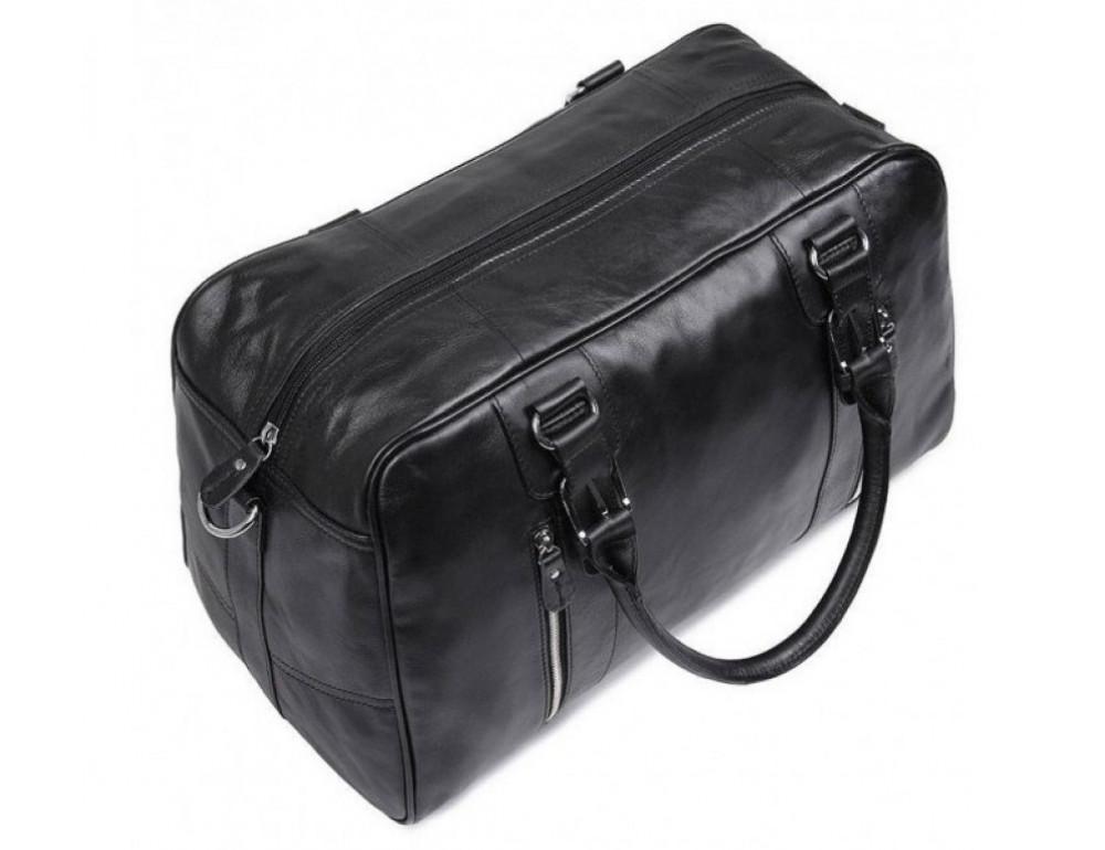 Кожаная дорожная сумка JASPER & MAINE 7190A - Фото № 6