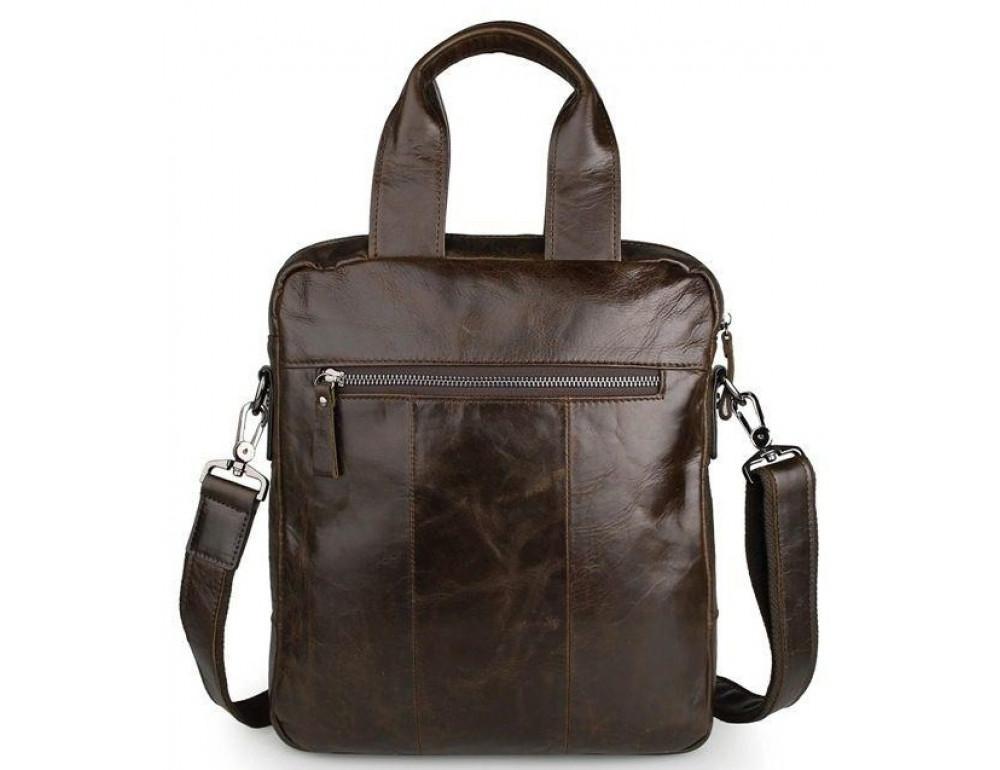 Мужской мессенджер TIDING BAG 7266C коричневая - Фото № 2