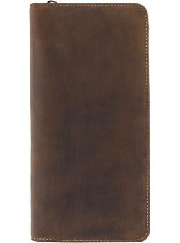 Коричневий шкіряний клатч Visconti 728 OIL TAN