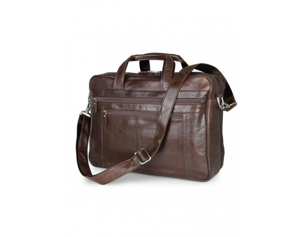 Чоловіча шкіряна сумка JASPER & MAINE 7319C - Фотографія № 2