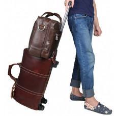 Чоловіча шкіряна сумка JASPER & MAINE 7319C