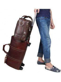 Мужская кожаная сумка JASPER&MAINE 7319C