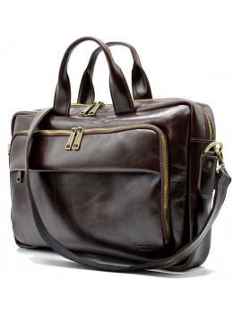 Винна шкіряна сумка TARWA GХ-7334-3md