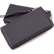 Чорний шкіряний клатч MD Leather 7m-1127