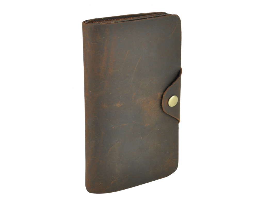 Шкіряний портмоне TIDING BAG 8032R коричневий